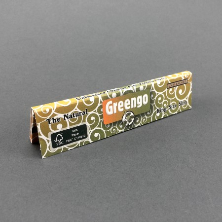 Greengo King Size Slim Natural Papers
