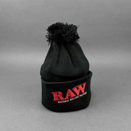 Rollmütze - RAW Black