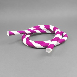 Silikonschlauch Violet Candy Cane
