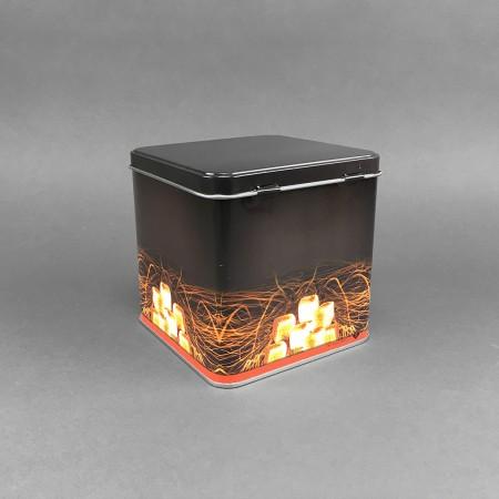 Metallbox für Shishakohle