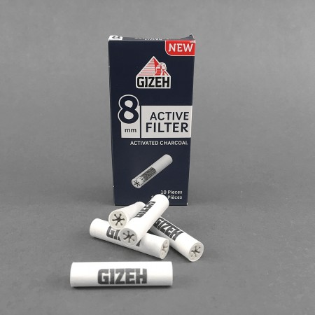 Gizeh ACTIVE Filter 8 mm, 10er