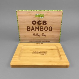 OCB Rolling Tray Bamboo