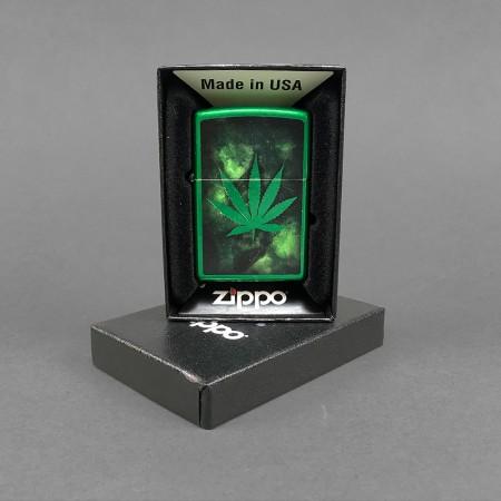 ZIPPO® Feuerzeug 'Green Leaf'