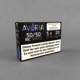 Avoria Nic Shots 50/50, 20 mg/ml