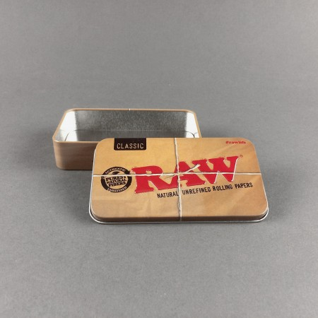 Metalldose Rolling Box von RAW
