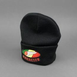 Rollmütze 'Legalize' black