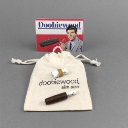 Doobiewood® Slim Spliff Holder - Walnuss