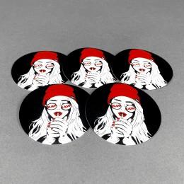 RAW Sticker Set 'Art Girl'