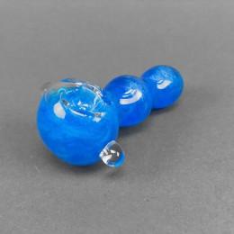 Glaspfeife 'Blue Freezer'