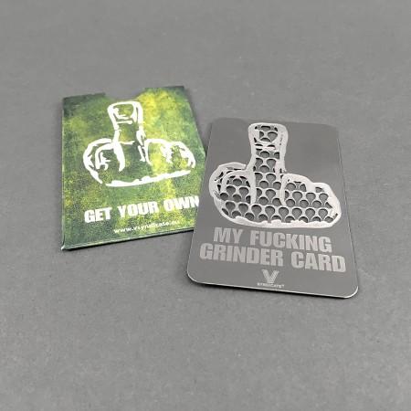 Grindercard My F*cking Grinder Card
