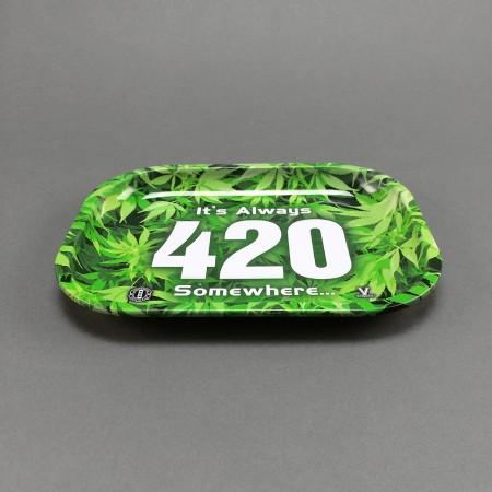 Mischungstablett Metall 420 klein