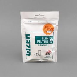 Gizeh Slim Filter Menthol, 120 Stück