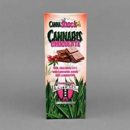 Cannabis Schokolade Cranberry, 150 g