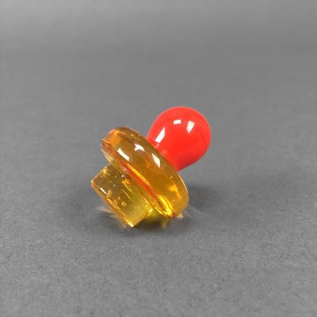 Carb Cap aus Glas 'Color Ball'