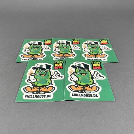 CH Sticker Set 'Bud Love'