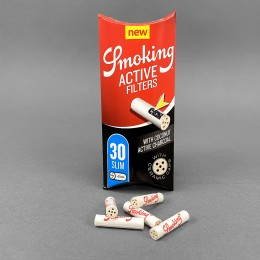 Smoking ACTIVE Filters 6 mm, 30er