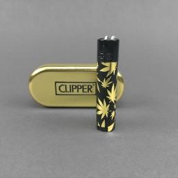 CLIPPER® Metal Leaves Gold & Black