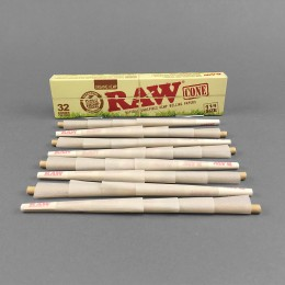 RAW Cones Organic 1 1/4 Size, 32er Pack