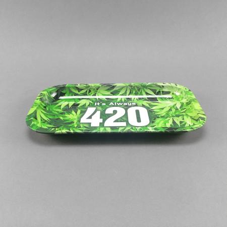 Mischungstablett Metall 420