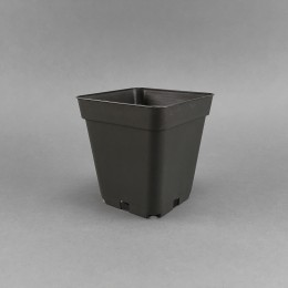 Flowerpot 10 x 10 x 11cm / 0.7L / extremely stable