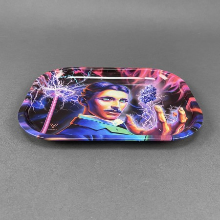 Rolling Tray 'Tesla - High Voltage'
