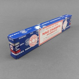Sai Baba Nag Champa Incense Sticks - Blue (15g)