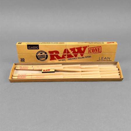 RAW Cones Lean, 20er Pack