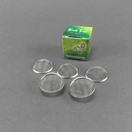 Black Leaf Einleger mit Ring, 20 mm