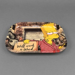 Rolling Tray 'Will Work' Small