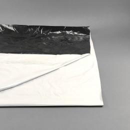 Schwarz-Weiß Folie 2x1 Meter