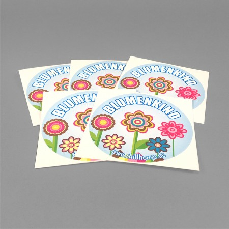 Chillhouse Sticker Set 'Blumenkind'