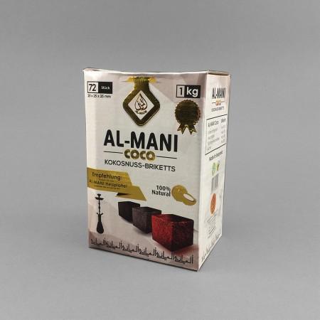 Al-Mani Coco (1kg) Kokos Kohle