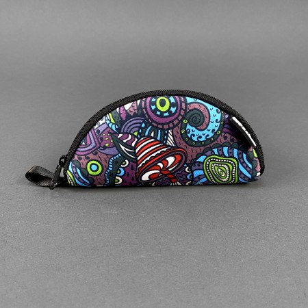 Portable Rolling Tray 'Psychedelic'