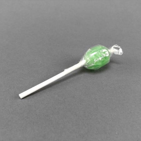 Hanf-Lolli oval grün