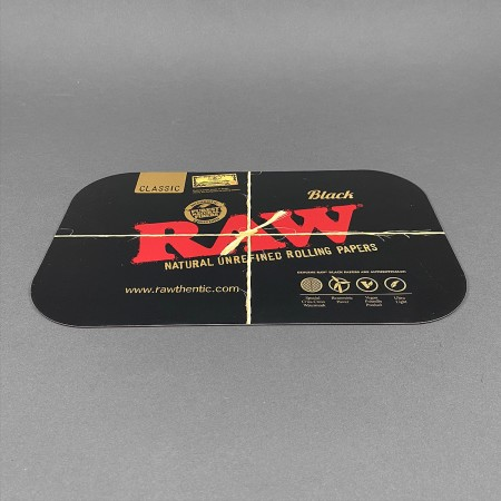 Rolling Tray Cover RAW Black