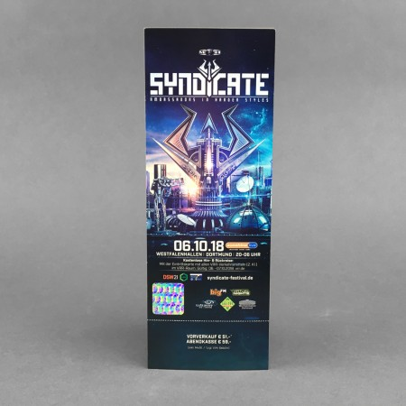 Ticket Syndicate 2018