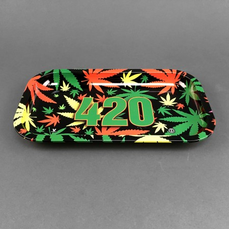 Rolling Tray '420 Rasta'