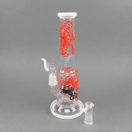 Grace Glass Bong 'The Psychedelic Red'