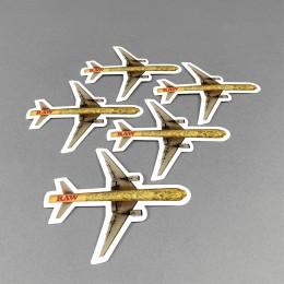 RAW Sticker Set 'Cone Plane'