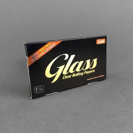 Papers Luxe Glass 1 1/4 Size, clear