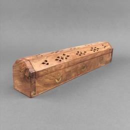 Räucherstäbchenhalter Box verziert