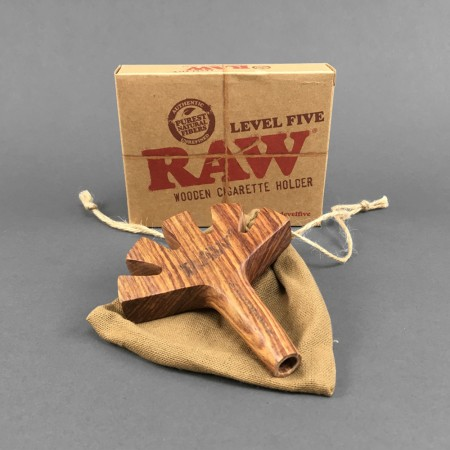 RAW Level Five Wooden Spliff Holder