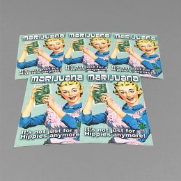 CH Sticker Set 'Retro Hausfrau'