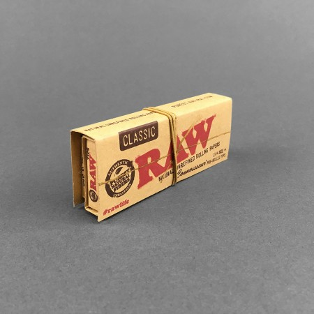 Papers RAW Connoisseur 1 1/4 Pre-Rolled