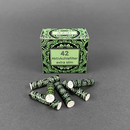 420z Aktivkohlefilter 'Emerald Shine'