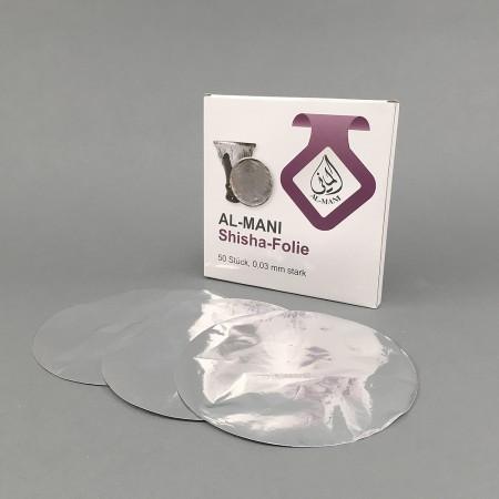 Shisha Alufolie (50 Stk)