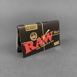 Papers RAW Black Double Single Wide