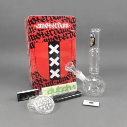 Amsterdam Bong Set 'Smoking Ape'
