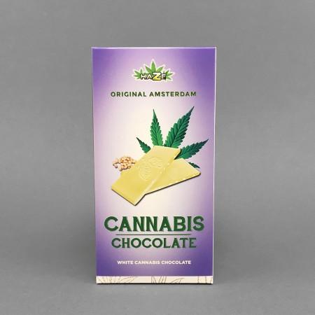 Cannabis Schokolade Weiß, 80 g