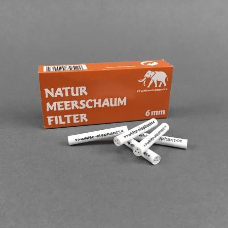 White Elephant 6 mm Meerschaum, 45er
